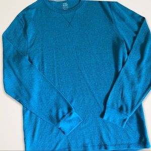 Soft-Washed Thermal-Knit Tee for Men(xXL)